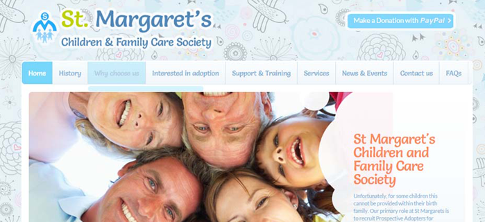 Starting a Charities web site