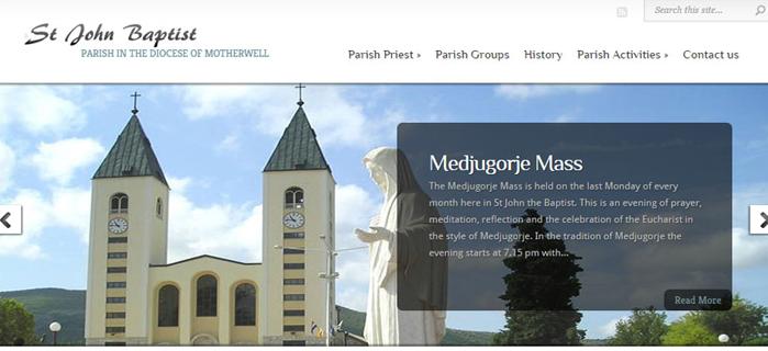 Starting a Parish Website
